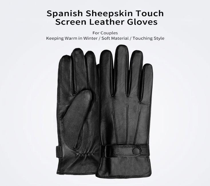 Xiaomi Touch Screen Leather Gloves Destacada