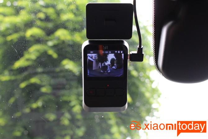 Xiaomi YI Mini Dash Camera: Grabación de emergencia