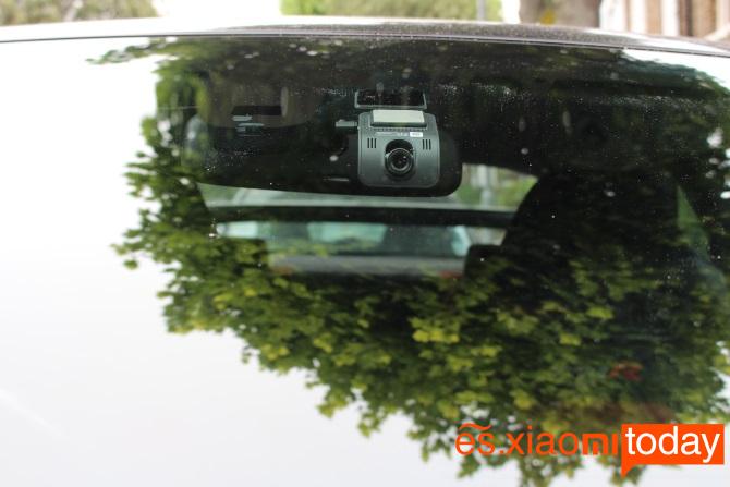 Xiaomi YI mini Dash Camera Análisis: ángulo de visión de 140°
