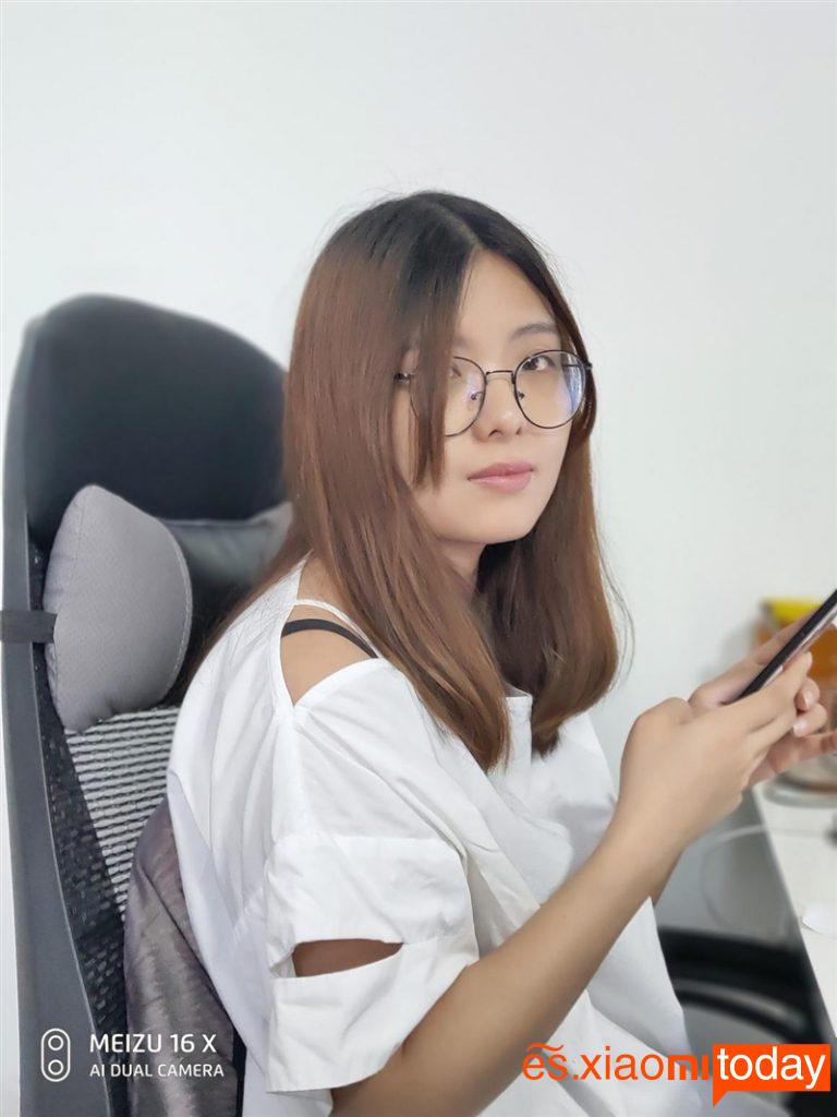 Meizu 16X: retratos