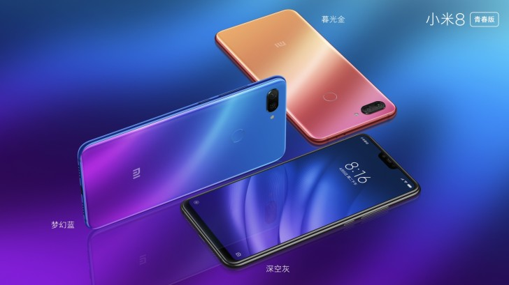 Xiaomi Mi 8 Pro - colores