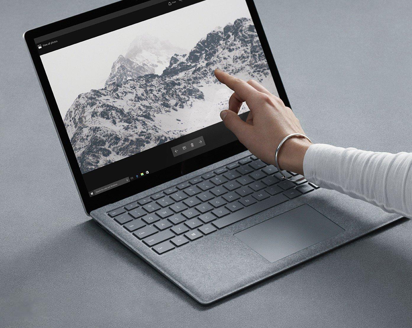 Microsoft Surface Laptop. Pantalla táctil