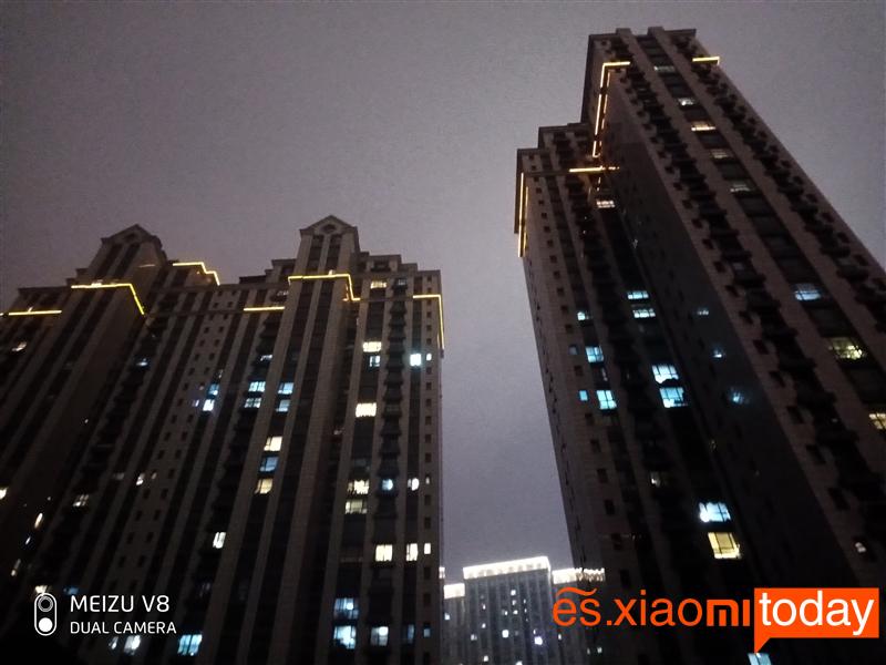 Meizu V8: Capturas Nocturnas