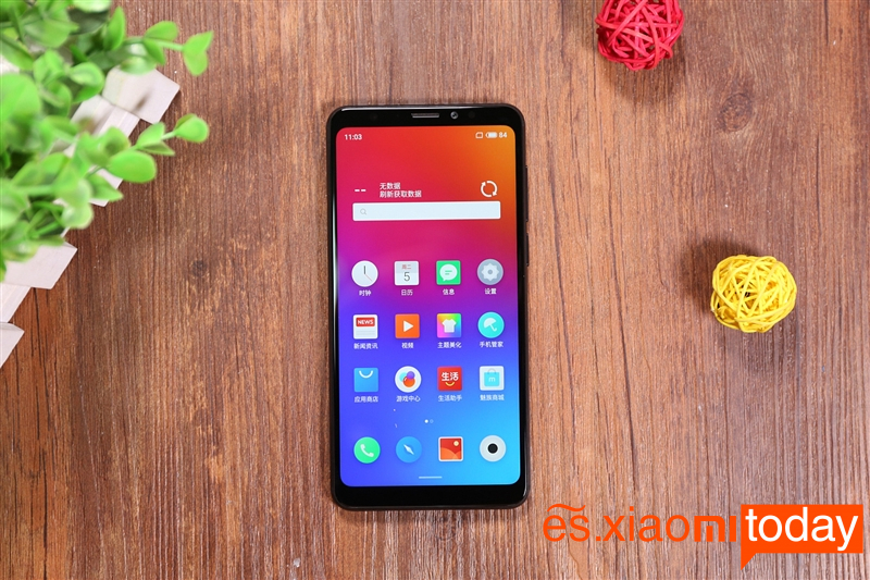 Meizu V8 Review: Diseño