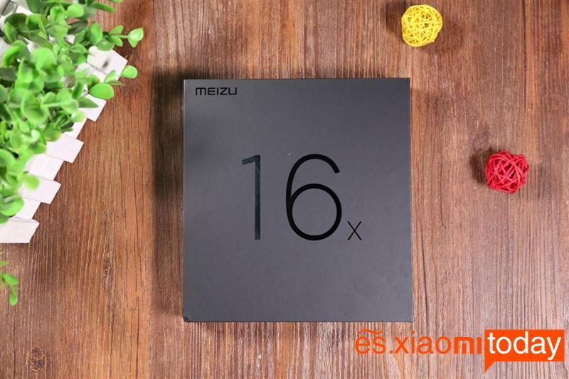 Meizu 16X Análisis: Contenido del paquete