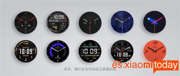 Huami AMAZFIT Smartwatch - Pantalla
