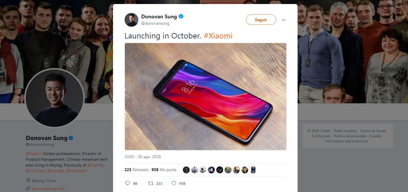 Mi MIX 3 - Donovan Sung