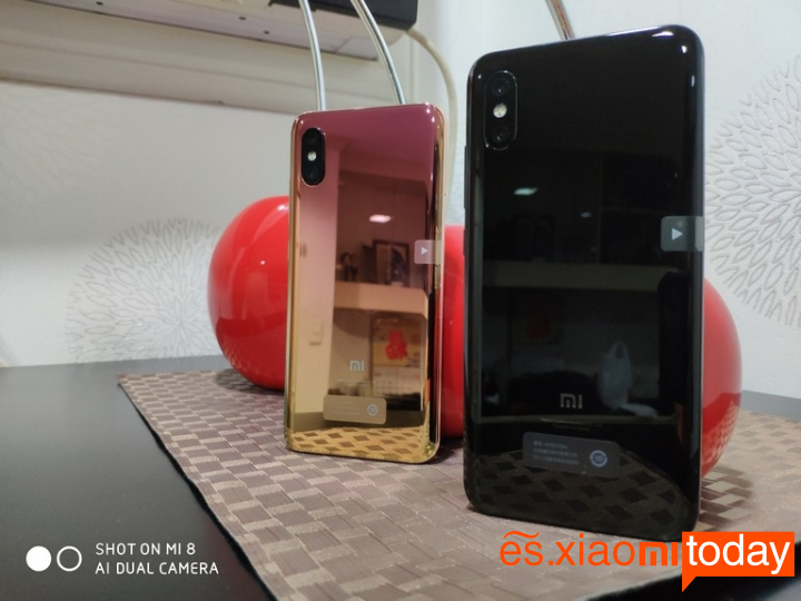Xiaomi Mi 8 Pro: Diseño