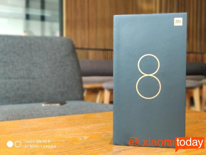 Xiaomi Mi 8 Pro Caja