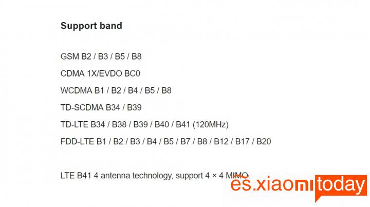 Xiaomi Mi 8 Pro: Conectividades
