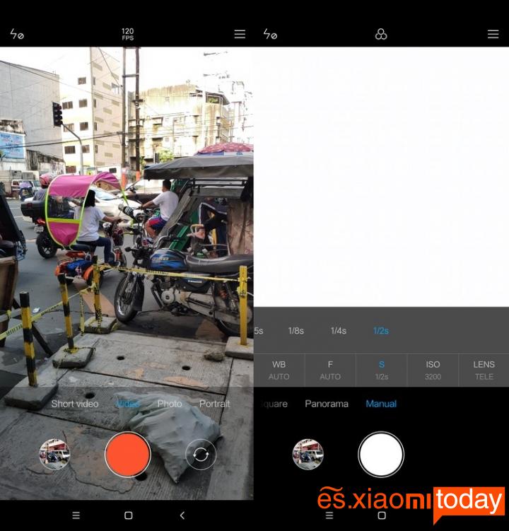 Xiaomi Mi 8 Pro: Cámaras review