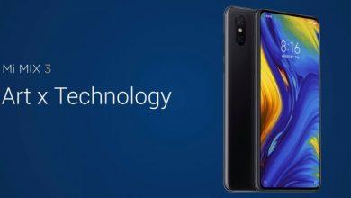 El Xiaomi Mi MIX 3 es presentado con pantalla completa, 4 cámaras y conectividad 5G