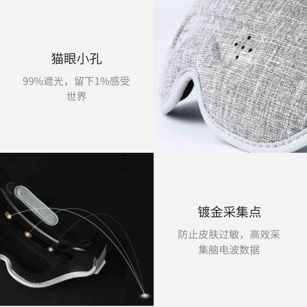 Antifaz Inteligente Xiaomi - Ondas Cerebrales