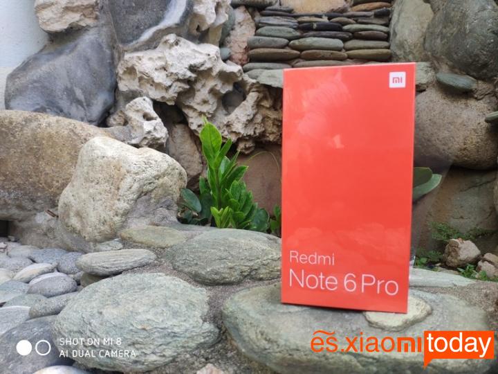 Xiaomi Redmi Note 6 Pro Análisis - Unboxing