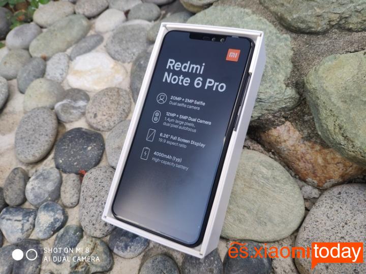 Xiaomi Redmi Note 6 Pro Análisis - Conectividad y audio
