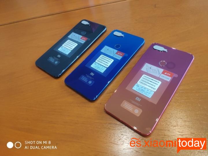 Xiaomi Mi 8 Lite Análisis - Diseño