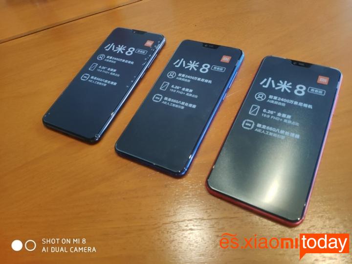 Xiaomi Mi 8 Lite Análisis - Pantalla