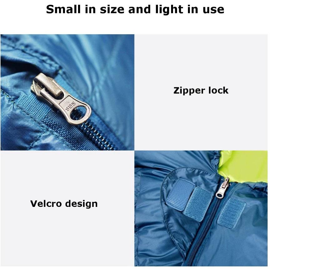 Bolsa de dormir Xiaomi Zaofeng diseño cremallera