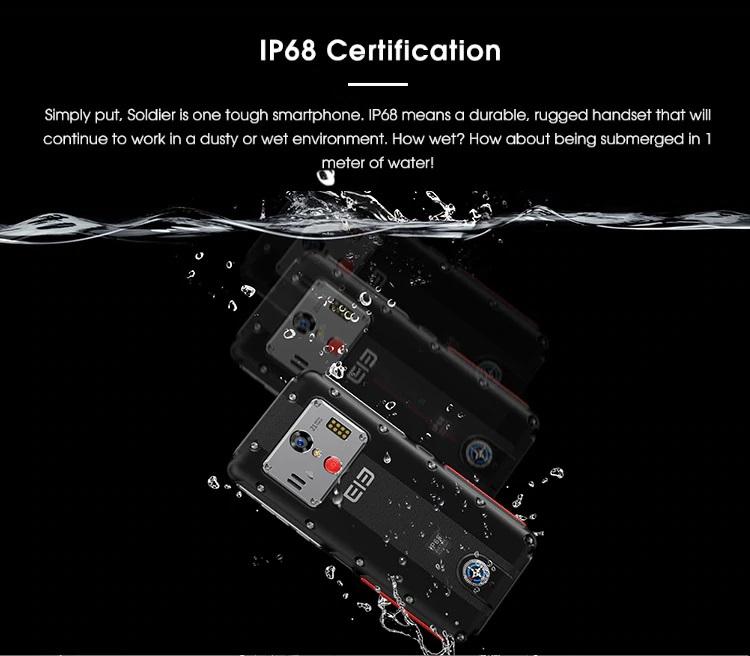 Elephone soldier certificación