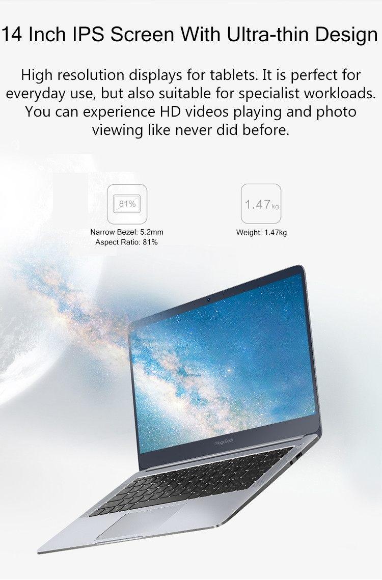 HUAWEI Honor MagicBook pantalla