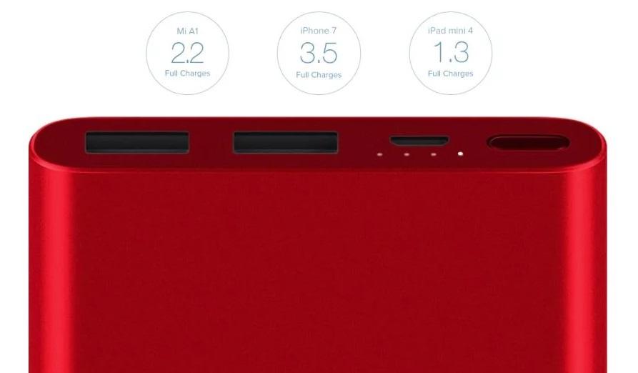 Conoce la nueva edición roja de la Mi Powerbank 2i