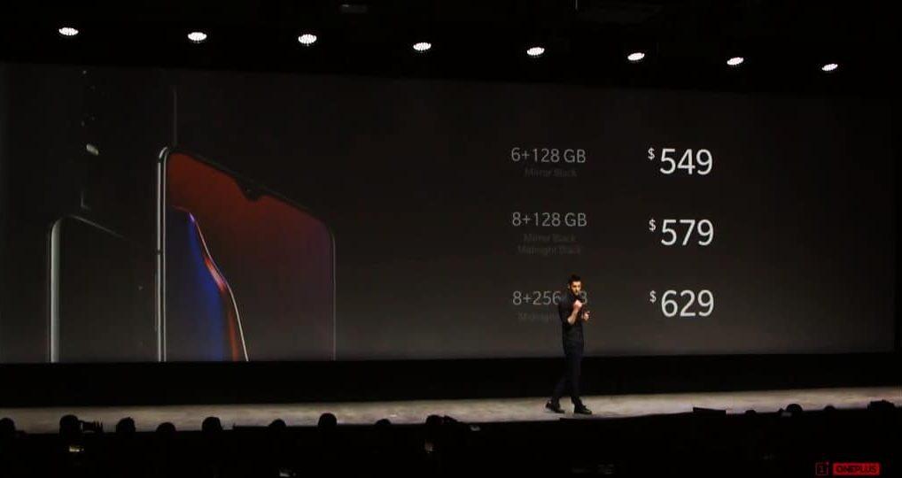 OnePlus 6T Hardware