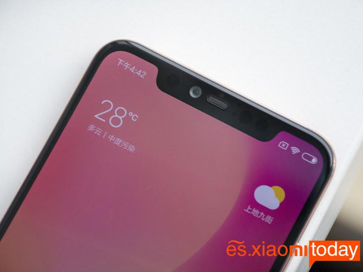 Xiaomi Mi 8 Pro: Notch