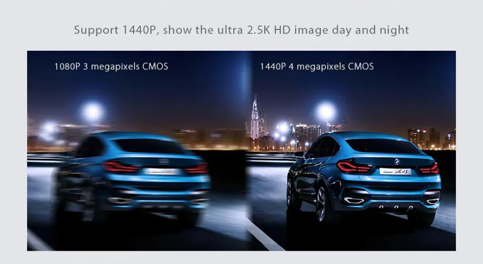 Xiaomi Philips Driving Recorder Calidad de imagen