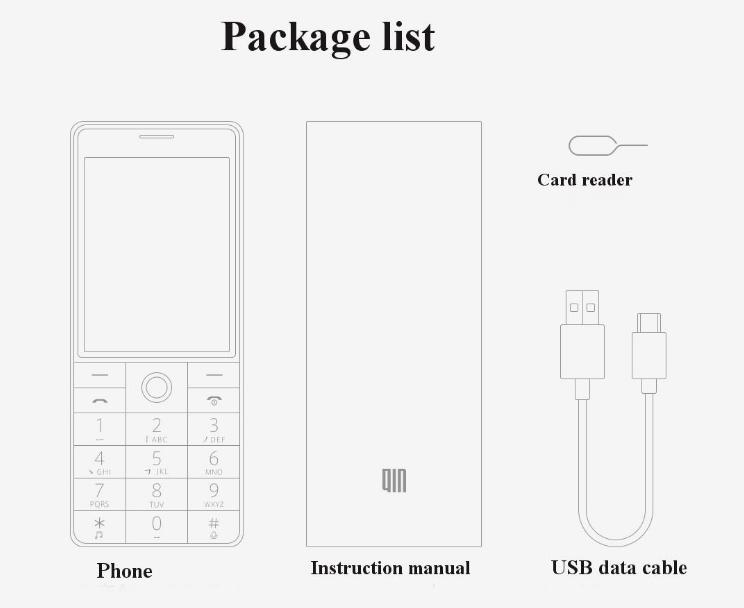 Xiaomi QIN 1 Paquete