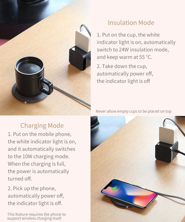 Xiaomi VH Wireless Charging Cup Instrucciones