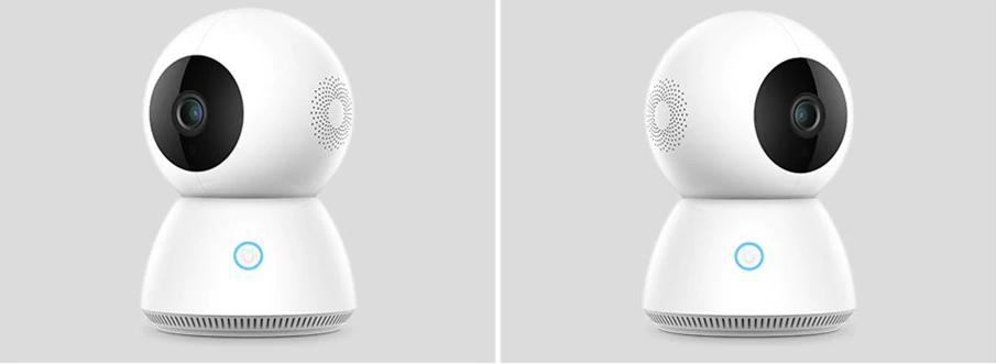 Xiaomi Mijia Smart 1080P WiFi IP Camera: Diseño
