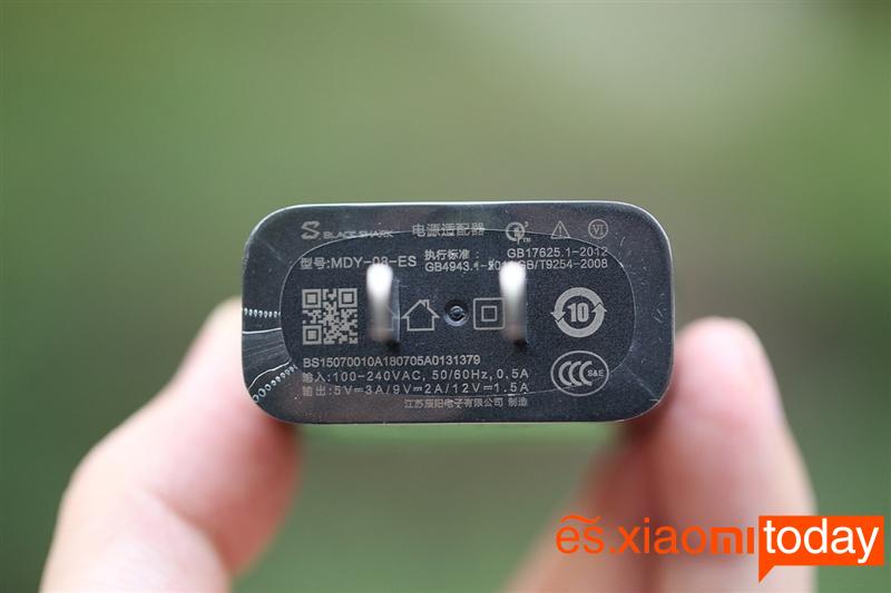 BlackShark Helo conector de carga