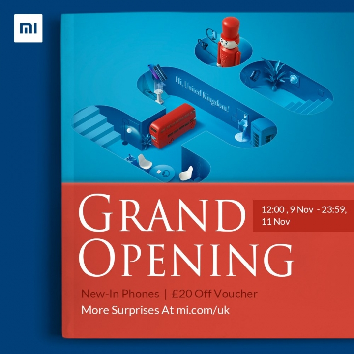 Xiaomi llega de manera oficial a Reino Unido
