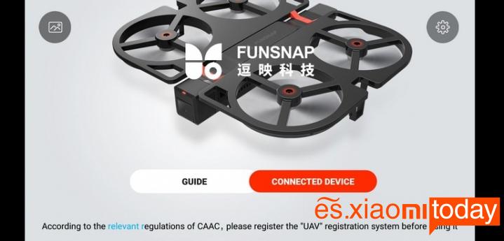 Xiaomi YoupiniDol FPV RC Drone Análisis: Conectividades
