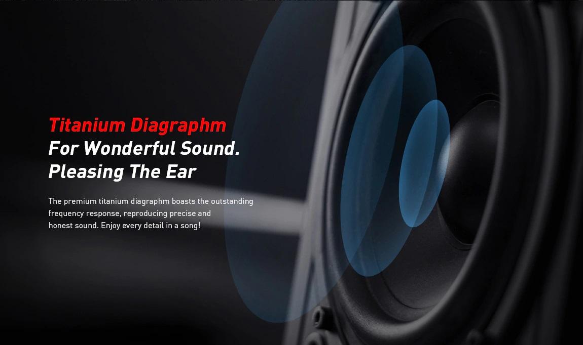 Alfawise JH-803 Bluetooth Headphones: Sonido