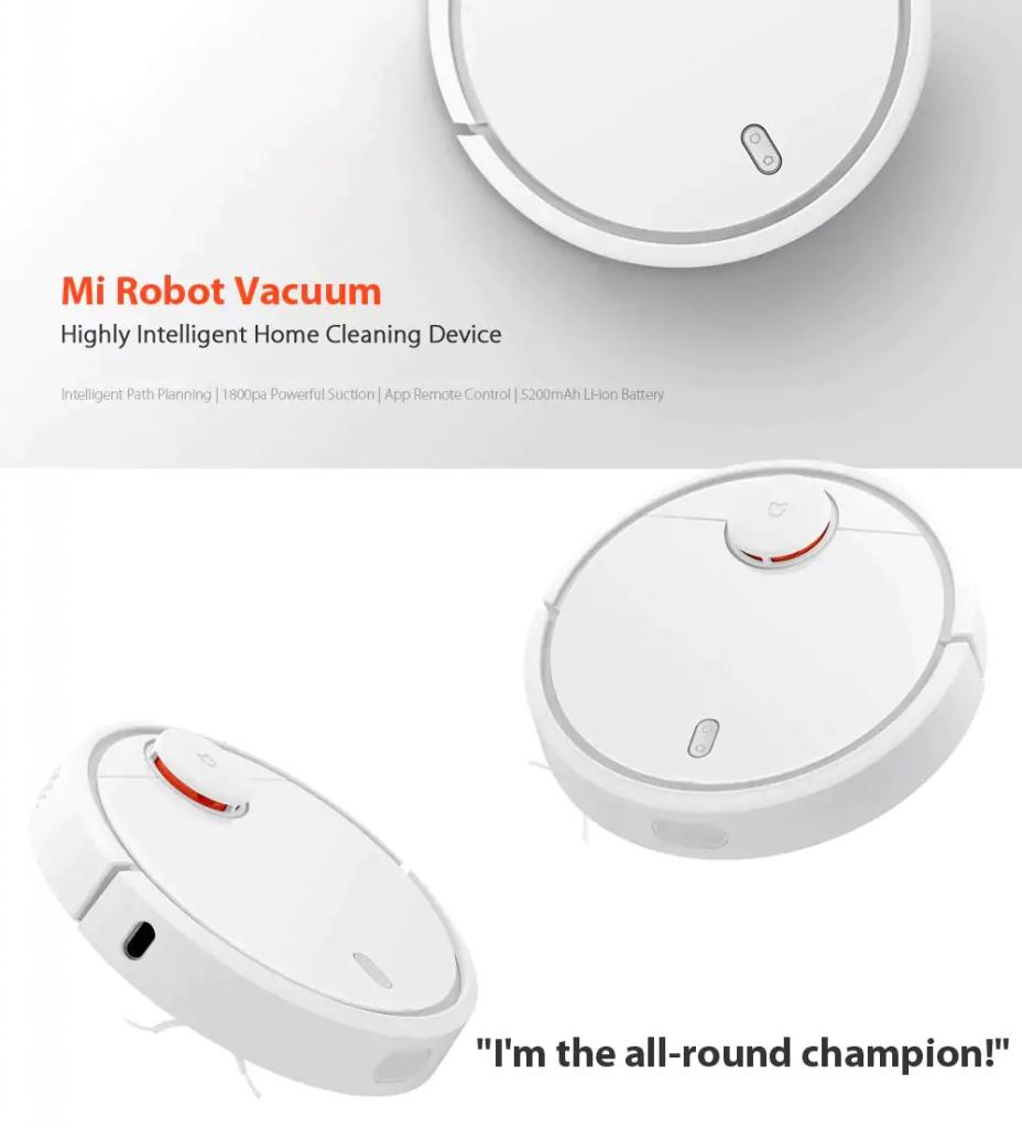 Black Friday Xiaomi Mi Robot Vacuum