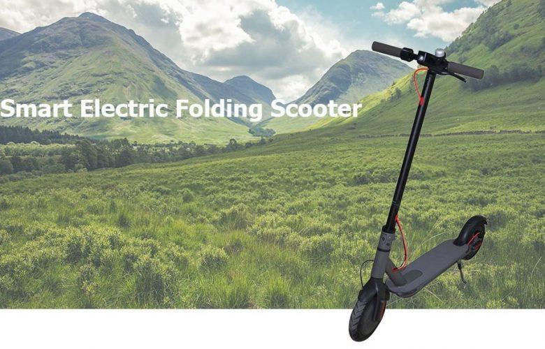 H-8501 Scooter eléctrica destacada