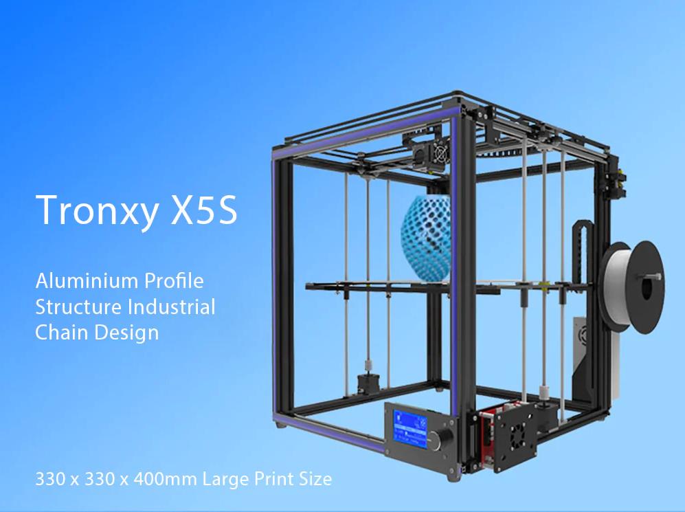Kit de Impresora 3D de Alta Precisión Tronxy X5S 2