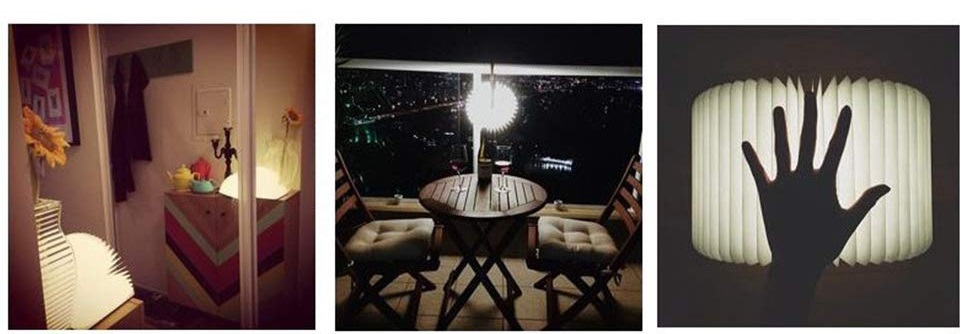 Lámpara de Mesa Tomshine diseño 1