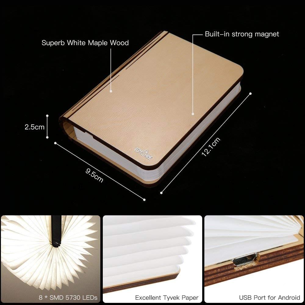 Lámpara de Mesa Tomshine diseño libro