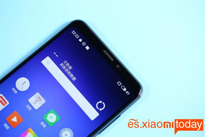 Meizu Note 8 diseño