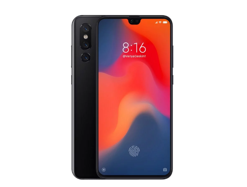 Geskin shows the design of the Mi 9
