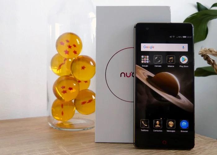 Nubia Z17 Lite caja