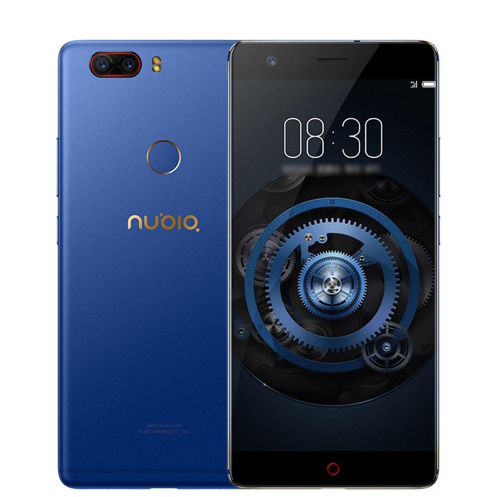 Nubia Z17 Lite diseño azul