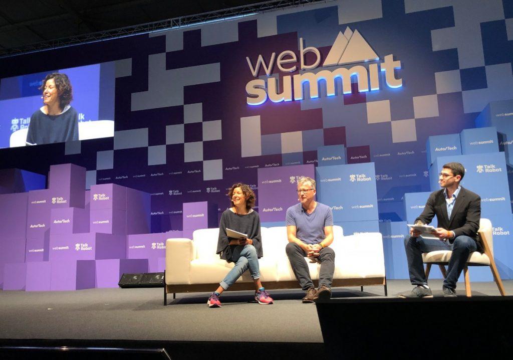 Paola Pisano - Presentación en el Web Summit