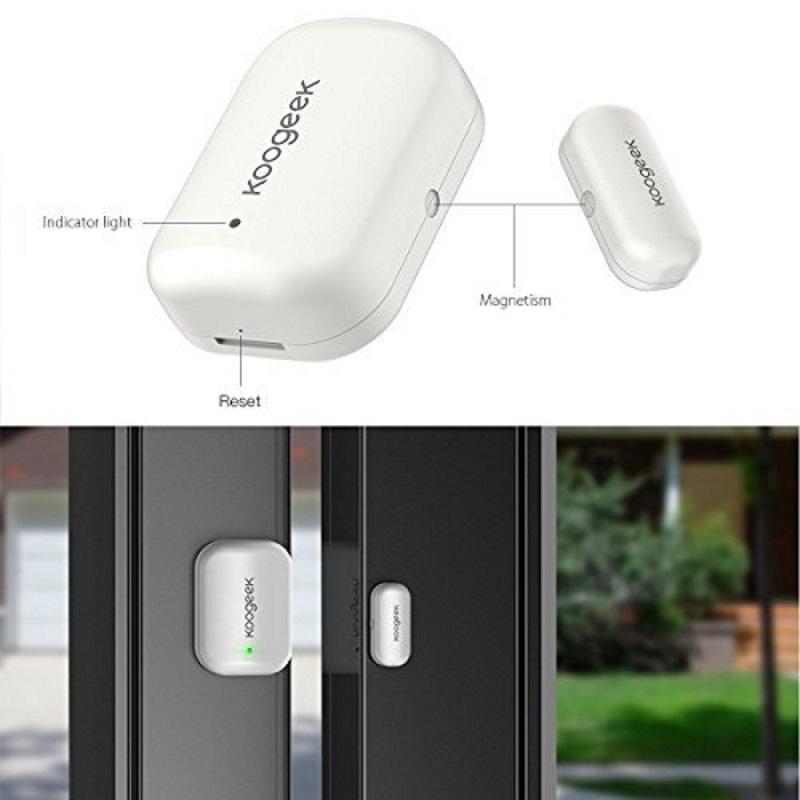 Sensor de puerta Koogeek diseño