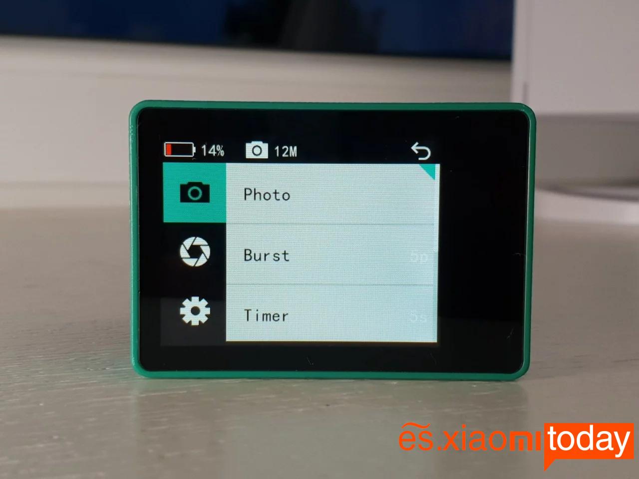Xiaomi Seabird 4K Action Camera Análisis: Modos de fotografía