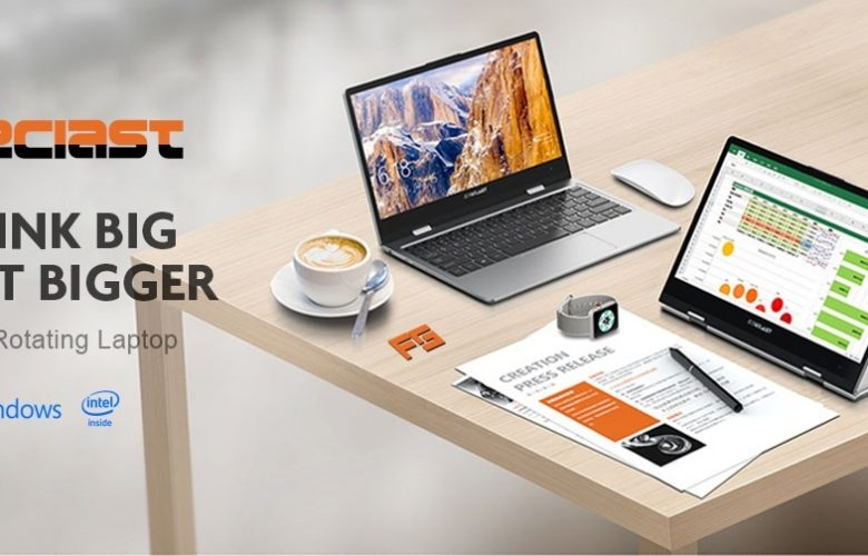 Teclast F5 Laptop destacada