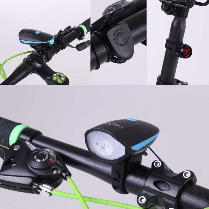Tomshine Luz LED para bicicletas diseño