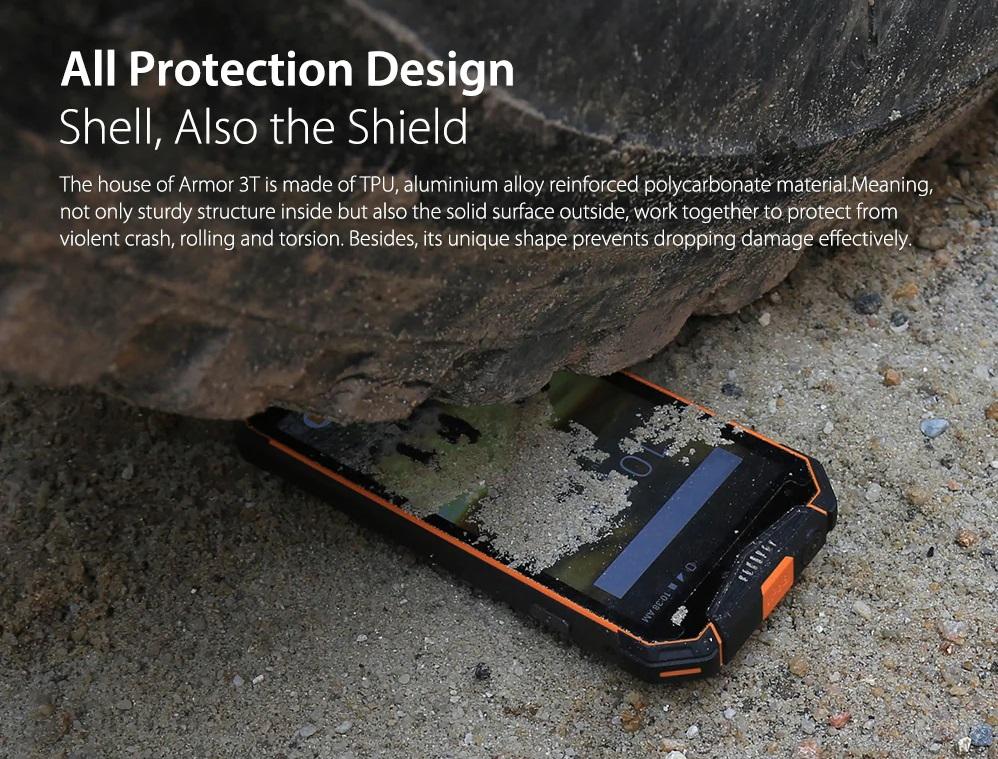 Ulefone Armor 3T Diseño